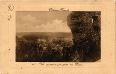Chateau-Renard - Vue Panoramique prise des Ruines - Château-Renard