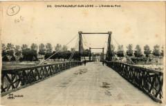 Chateauneuf-sur-Loire - L'Entrée du Pont - Châteauneuf-sur-Loire