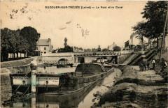 Ouzouer-sur-Trezee - Le Pont et le Canal - Ouzouer-sur-Trézée