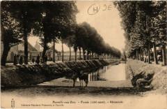 Neuville-aux-Bois - Fosses - coté ouest - Abreuvoir - Neuville-aux-Bois