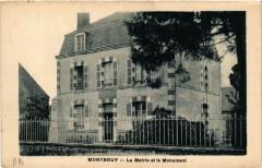 Montbouy La Mairie et le Monument - Montbouy