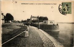 Combleux La Loire et l'embouchure du Canal - Combleux