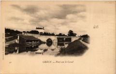 Checy Pont sur le Canal - Chécy