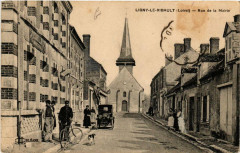 Ligny-le-Ribault Rue de la Mairie - Ligny-le-Ribault