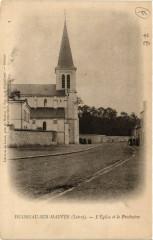 Huisseau-sur-Mauves - Eglise et le Presbytere - Huisseau-sur-Mauves