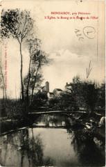 Bondaroy - Eglise - Le Bourg et la Riviere de l'Oeuf - Bondaroy