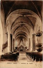 Amilly - Intérieur de Eglise - Amilly