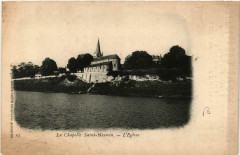 La Chapelle Saint-Mesmin. L'Eglise - La Chapelle-Saint-Mesmin
