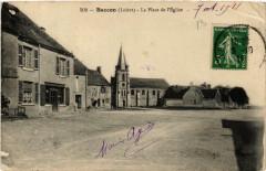 Baccon La Place de l'Eglise - Baccon