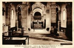 Germigny-des-Pres - Intérieur de Eglise Romano-Byzantine - Germigny-des-Prés