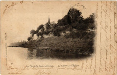 La Chapelle Saint-Mesmin. Le Chevet de l'Eglise - La Chapelle-Saint-Mesmin