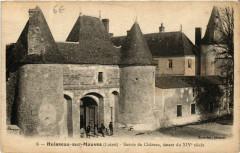 Huisseau-sur-Mauves - Entrée du Chateau - Huisseau-sur-Mauves