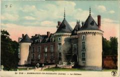 Dammarie-en-Puisaye - Le Chateau - Dammarie-en-Puisaye