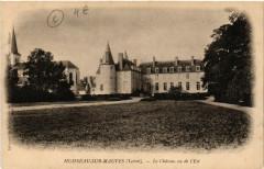 Huisseau-sur-Mauves - Le Chateau vu de l'Est - Huisseau-sur-Mauves