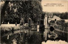 Ligny-le-Ribault Chateau de la Cour Le Pont Levis - Ligny-le-Ribault