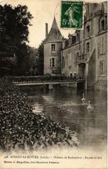Aulnay-la-Riviere Chateau de Rocheplatte Facade arriere - Aulnay-la-Rivière