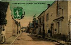 Outarville La Poste et l Café des Voyageurs - Outarville