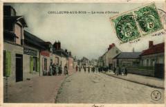 Chilleurs-aux-Bois La route d'Orléans - Chilleurs-aux-Bois