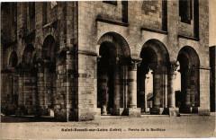 Saint-Benoit-sur-Loire - Porche de la Basilique - Saint-Benoît-sur-Loire