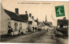 Jouy en Pithiverais - La route d'Attray - Jouy-en-Pithiverais
