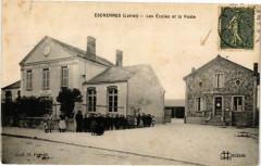 Escrennes - Les Ecoles et la Poste - Escrennes