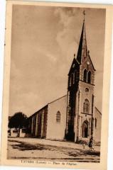 Tavers - Place de l'Eglise - Tavers