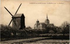 Saint-Benoit-sur-Loire - Le Moulin a vent - Saint-Benoît-sur-Loire