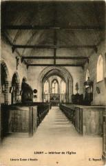 Loury - Interieur de l'Eglise - Loury