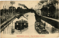 Montbouy - Vue du Canal de Briare - Montbouy