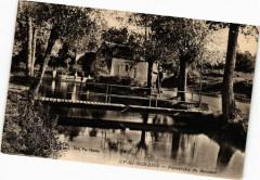 Gy-les-Nonains - Passerelle du Buisson - Gy-les-Nonains