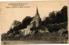 La Chapelle Saint-Mesmin-Les Bords de la Loire-L'Eglise et l'Entrée - La Chapelle-Saint-Mesmin