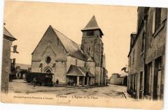 Trainou - L'Eglise et la Place - Traînou