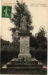 Trigueres - Statue de Ste-Alpaix - Triguères