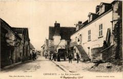 Chisseaux La Rue principale - Chisseaux