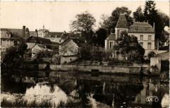 Preuilly-sur-Claise La Claise et l'Hotel de Ville - Preuilly-sur-Claise