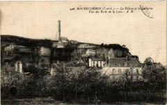 Rochecorbon La Falaise et la Lanterne Vues des Bords de la Loire - Rochecorbon