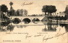 Preuilly-sur-Claise La Claise et le Pon - Preuilly-sur-Claise