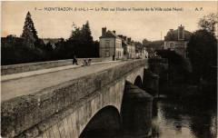 Montbazon Le Pont sur l'Indre et l'entrée de la Ville - Montbazon