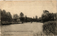 Esvres Pont du Chemin de Fer et Passerelle - Esvres