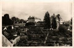 Bourgueil Vue générale de l'Abbaye - Bourgueil