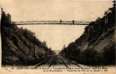 Joue-les-Tours Tranchée de la ligne Paris-Bordeaux - Joué-lès-Tours
