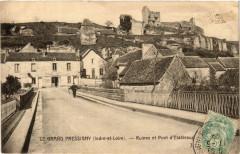 Le Grand Pressigny Ruines et Pont d'Etableaux - Le Grand-Pressigny