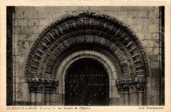 Saint-Martin-le-Beau Le Portail de Eglise - Saint-Martin-le-Beau