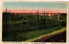 Sainte-Maure-de-Touraine Le Viaduc de Besnault - Sainte-Maure-de-Touraine