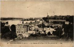 Rochecorbon Le Chateau de la Tour et la Vue générale Est - Rochecorbon