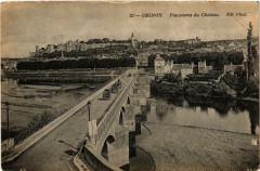 Chinon Panorama du Chateau - Chinon