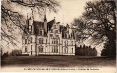 Sainte-Catherine-de-Fierbois Chateau de Comarce - Sainte-Catherine-de-Fierbois