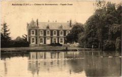 Autreche Chateau de Beaumarchais - Facade Ouest - Autrèche