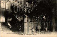 Sainte-Catherine-de-Fierbois Chateau de Comarce. L'Escalier du ves - Sainte-Catherine-de-Fierbois