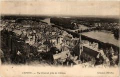 Chinon Vue générale prise du Chateau - Chinon